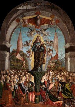The Apotheosis of Saint Ursula | Vittore Carpaccio | Oil Painting