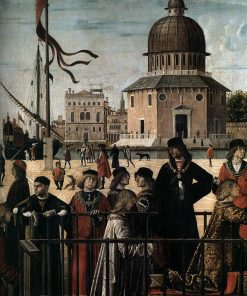 Arrival of the English Ambassadors (detail) | Vittore Carpaccio | Oil Painting