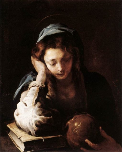 The Repentant Saint Mary Magdalene | Domenico Fetti | Oil Painting