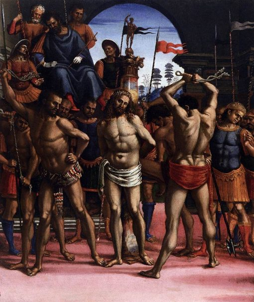 Flagellation | Luca Signorelli | Oil Painting