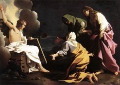 The Two Marys at the Tomb   Bartolomeo Schedoni   Oil Painting