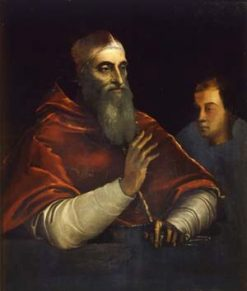 Pope Paul III | Sebastiano del Piombo | Oil Painting