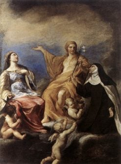 The Three Magdalenes | Andrea Sacchi | Oil Painting