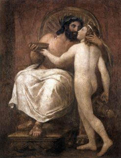 Jupiter and Ganymede | Anton Raphael Mengs | Oil Painting