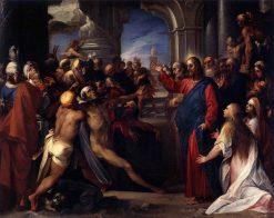 The Raising of Lazarus | Giuseppe Cesari | Oil Painting