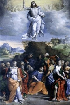 The Ascension of Christ | Il Garofalo | Oil Painting