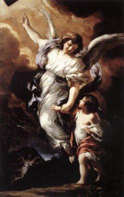 The Guardian Angel | Pietro da Cortona | Oil Painting