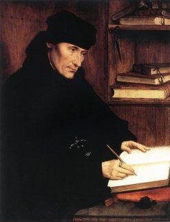 Portrait of Erasmus (half of diptych) | Quentin Massys | Oil Painting