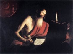 Saint Jerome | Trophime Bigot | Oil Painting