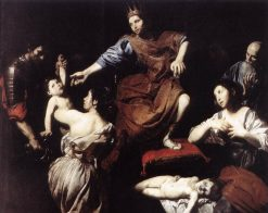 The Judgement of Solomon | Valentin de Boulogne | Oil Painting
