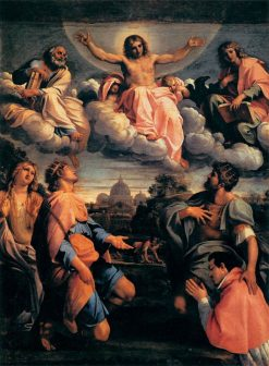 Christ in Glory | Annibale Carracci | Oil Painting