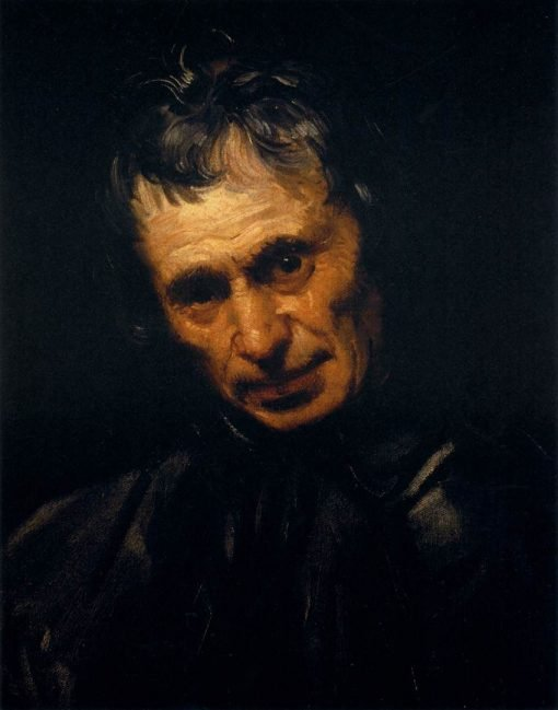 Head of a Man | Annibale Carracci | Oil Painting