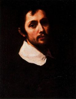 Portrait of a Man in Black | Cristofano Allori | Oil Painting