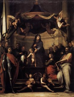 The Marriage of Saint Catherine | Fra Bartolomeo | Oil Painting