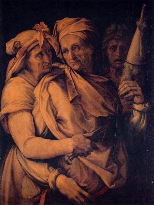 The Three Fates | Francesco Salviati | Oil Painting