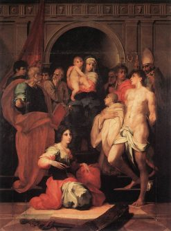 Madonna Enthroned with Ten Saints | Rosso Fiorentino | Oil Painting