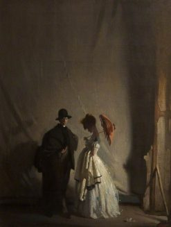 Behind the Scenes | Sir William Orpen | Oil Painting