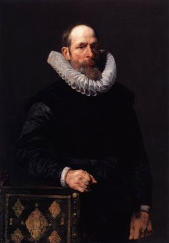 Portrait of an Elderly Man   Anthony van Dyck   Oil Painting