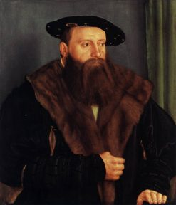 Portrait of Duke Ludwig X of Bavaria   Barthel Beham   Oil Painting