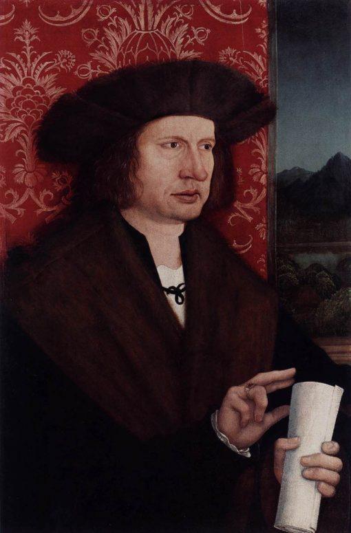 Portrait of Dr. Georg Thannstetter | Bernhard Strigel | Oil Painting