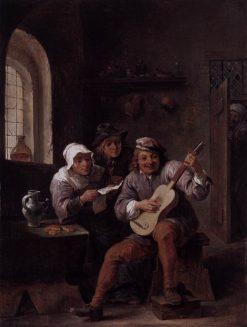Peasants Making Music | David Teniers II | Oil Painting