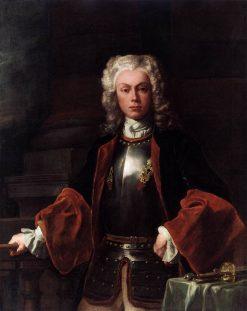 Portrait of Prince Joseph Wenzel von Liechtenstein | Francesco Solimena | Oil Painting