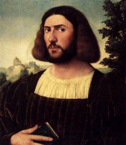 Portrait of a Man   Jan van Scorel   Oil Painting
