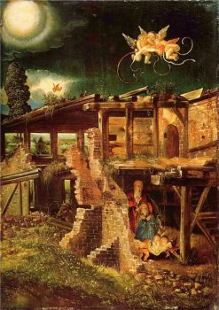 Holy Night(also known as 'Nativity') | Albrecht Altdorfer | Oil Painting