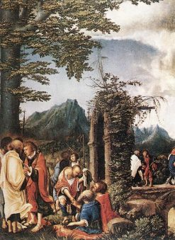 Communion of the Apostles | Albrecht Altdorfer | Oil Painting