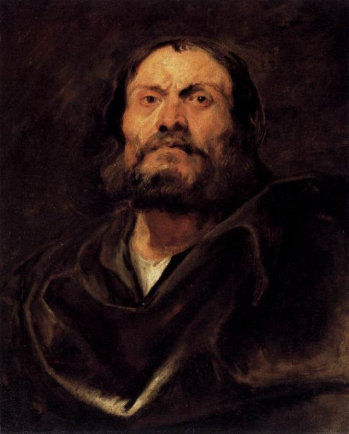 Bust of an Apostle | Anthony van Dyck | Oil Painting