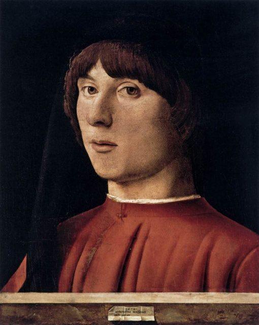 Portrait of a Man | Antonello da Messina | Oil Painting