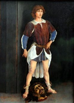 David Victorious | Antonio del Pollaiuolo | Oil Painting