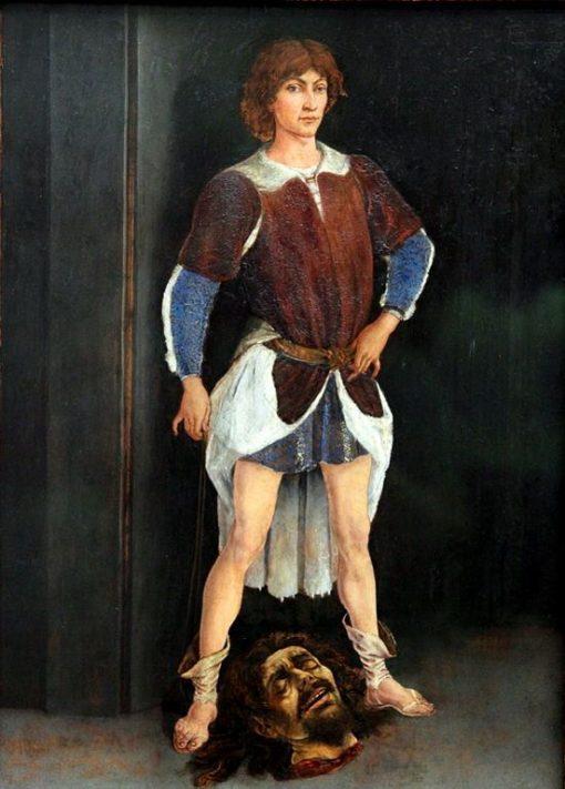 David Victorious | Antonio del Pollaiuolo | Oil Painting