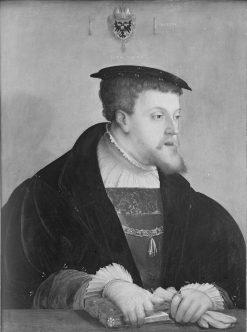 Kaiser Karl V. (1500-1558) | Christoph Amberger | Oil Painting
