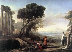 Italian Coastal Landscape | Claude Lorrain | Oil Painting