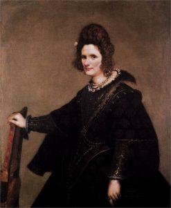 Portrait of a Lady | Diego Velazquez | Oil Painting