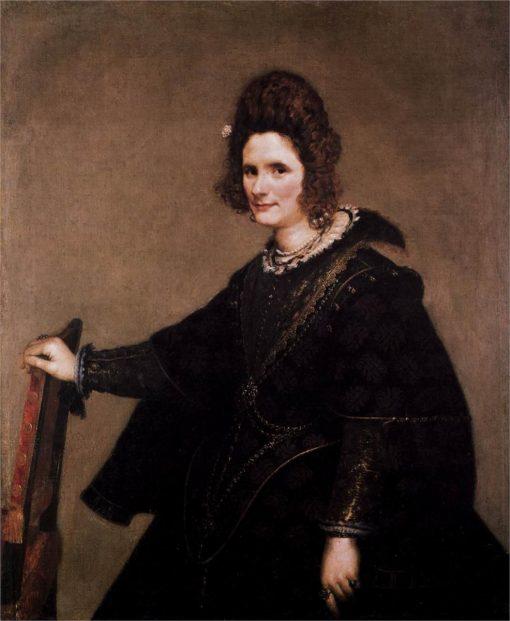 Portrait of a Lady   Diego Velazquez   Oil Painting