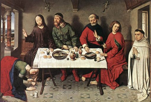 Christ in the House of Simon | Dieric Bouts | Oil Painting