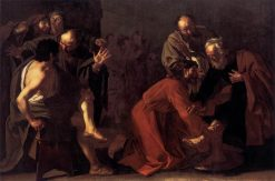 Christ Washing the Apostles Feet | Dirck van Baburen | Oil Painting