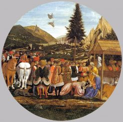 Adoration of the Magi | Domenico Veneziano | Oil Painting