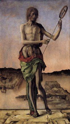 Saint John | Ercole de' Roberti | Oil Painting