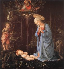 The Adoration of the Infant Jesus | Filippino Lippi | Oil Painting