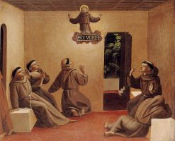 The Apparition of Saint Francis at Arles | Fra Angelico | Oil Painting