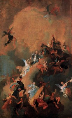 Apotheosis of a Hungarian Saint | Franz Anton Maulbertsch | Oil Painting
