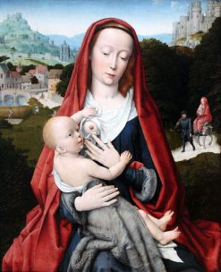 Madonna and Child | Gheeraert Gerard David | Oil Painting