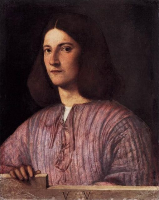 Portrait of a Young Man | Giorgione | Oil Painting
