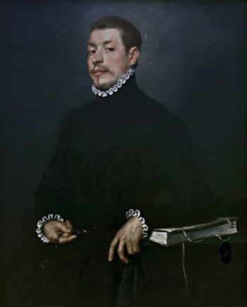 Portrait of a Young Man | Giovanni Battista Moroni | Oil Painting