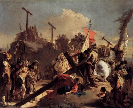 Christ Carrying the Cross | Giovanni Battista Tiepolo | Oil Painting