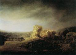 Landscape with a Bridge | Govaert Flinck | Oil Painting
