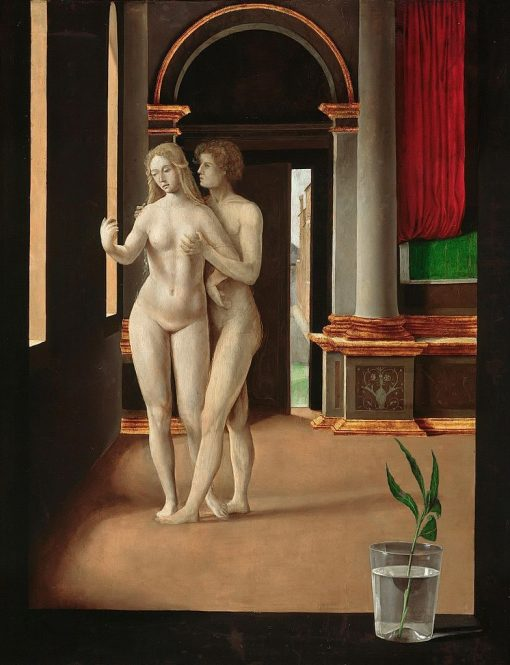 A Room with Lovers | Jacopo de' Barbari | Oil Painting